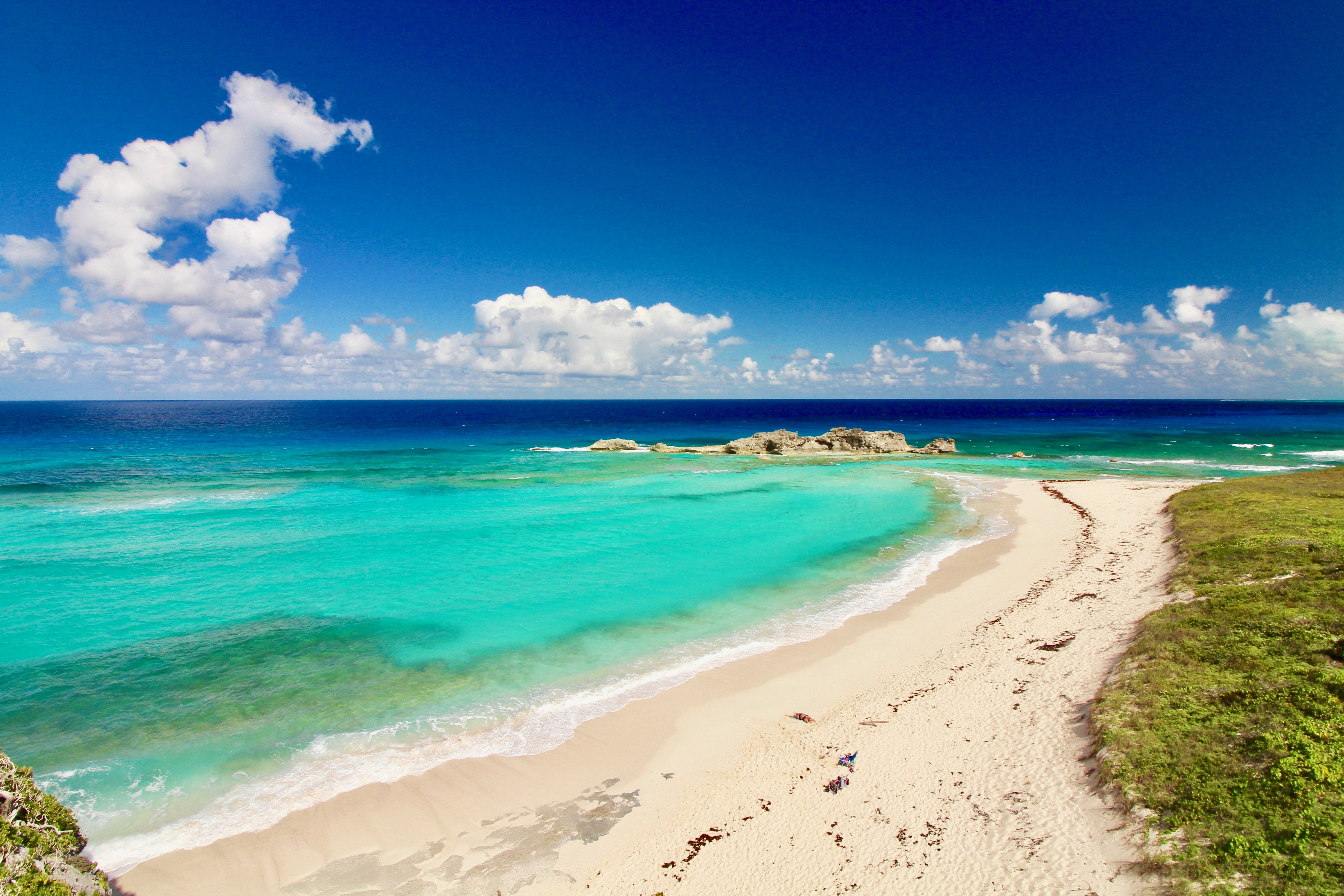 The Stunning Mudjin Harbour (Middle Caicos)