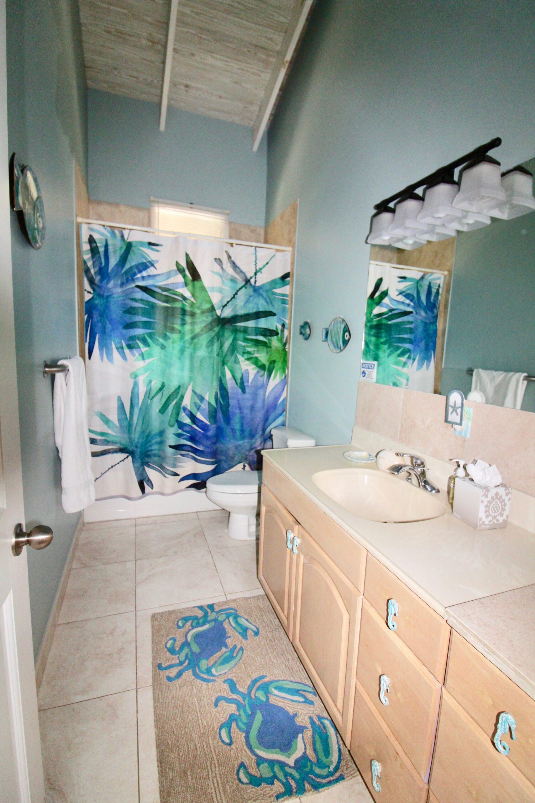 new color in small bathroom